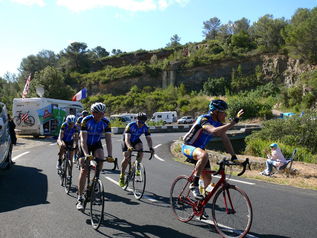 40 k's of local stage riding had our group being cheered on by the crowds lining the road.