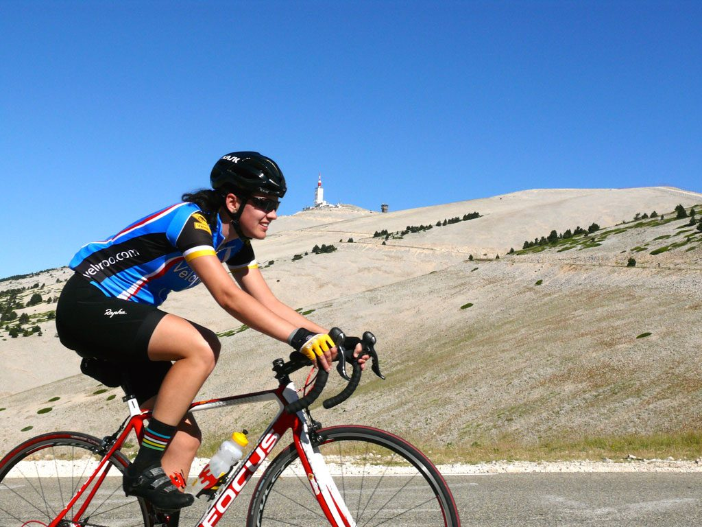 Going where no TdF Pro rider could go during the 2016 Mt Ventoux TdF Stage, we returned to climb the Geant of Provence 2 days after the TdF Stage was shortened due to super strong winds.